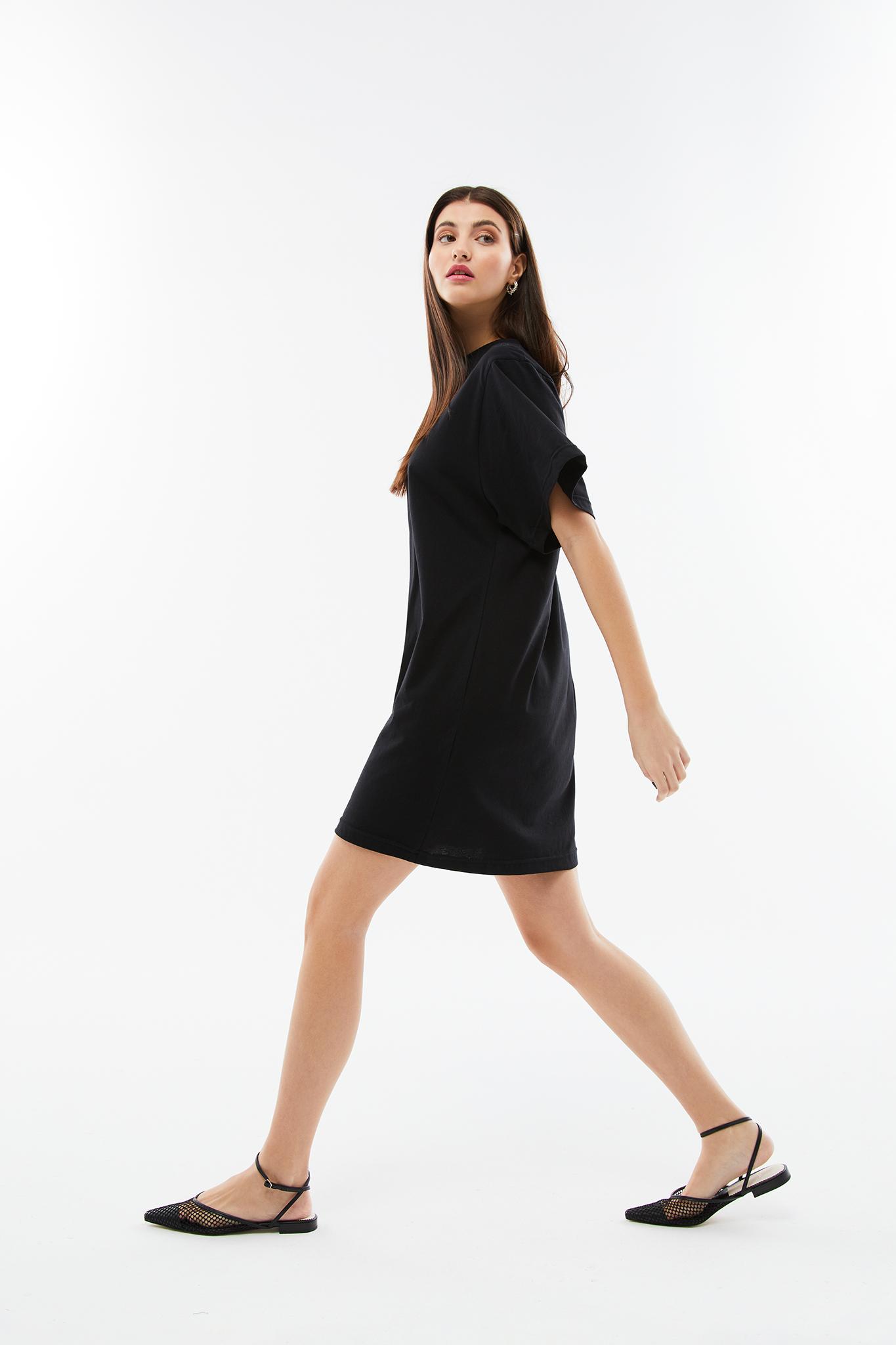 BLAMEYOURDAZE SHORT DRESS BLACK