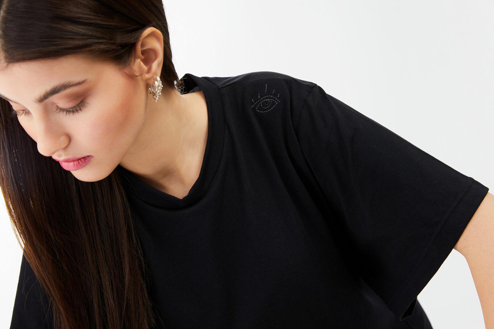 BALMEYOURDAZE LOGO DRESS BLACK