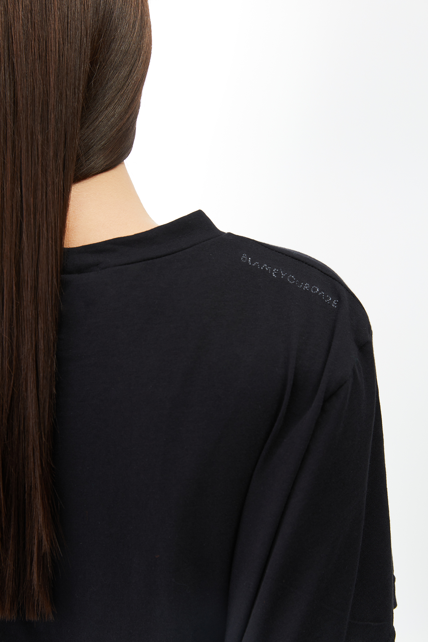 BLAMEYOURDAZE BLACK LOGO MINI DRESS