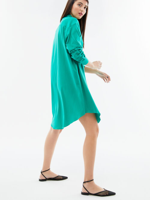 BLAMEYOURDAZE oversized green dress