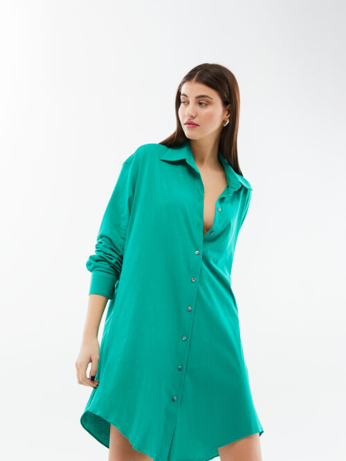 Blameyour daze green oversized dress