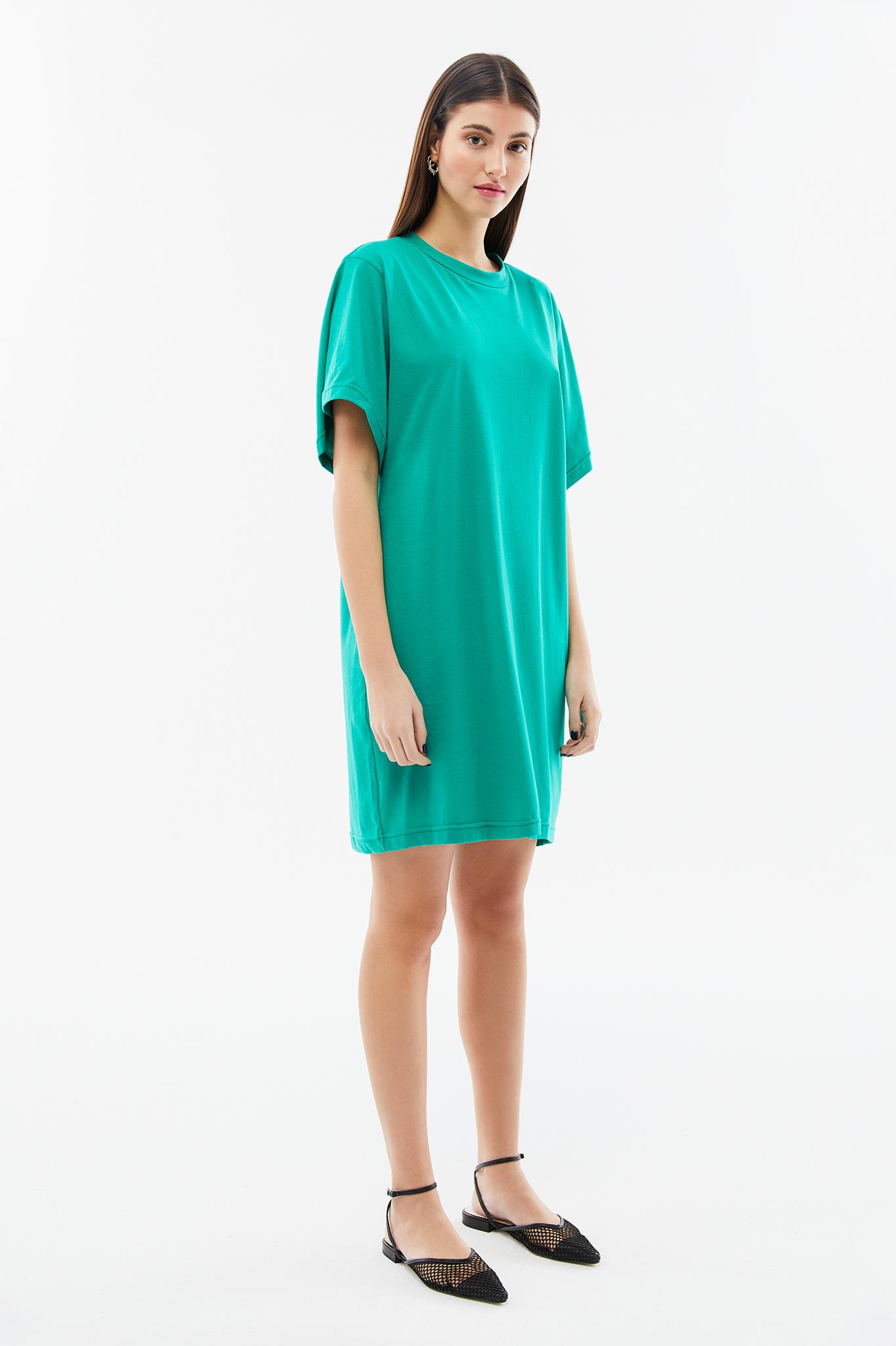 BLAMEYOURDAZE TSHIRT GREEN DRESS