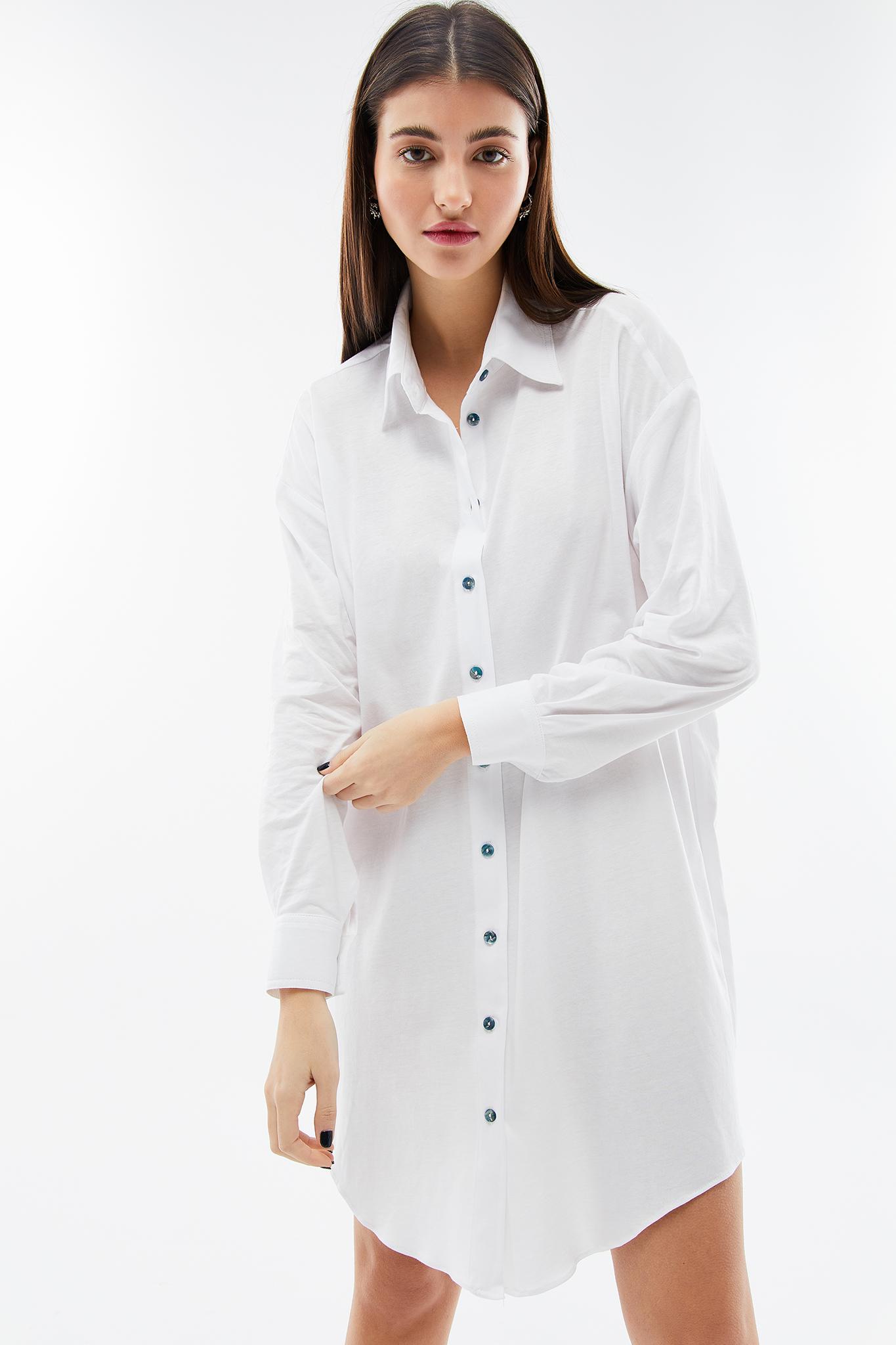 BLAMEYOURDAZE white oversized dress