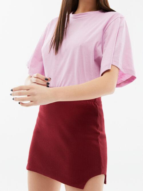 BLAMEYOURDAZE red mini skirt