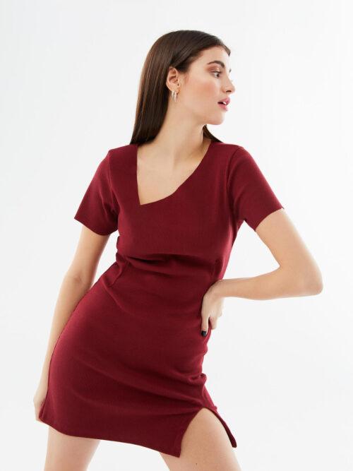 blameyourdaze heartbeat rib dress